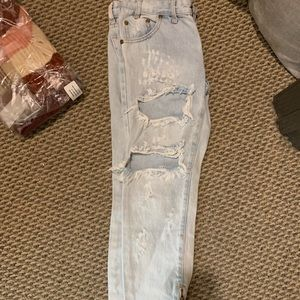 Just purchased One Teaspoon ripped jeans w/ zip